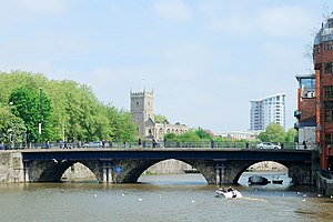 Bristol Bridge - Bristol Bridge from Welsh Back