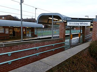 Brockley Whins Metro station Tyne and Wear Metro station in South Tyneside
