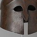 Bronze helmet of South Italian-Corinthian type MET DP105648.jpg