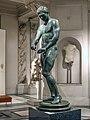 Bronze statue of an athlete from Ephesus cleaning his strigil 1st century CE copy of 4th century BCE Greek original.jpg
