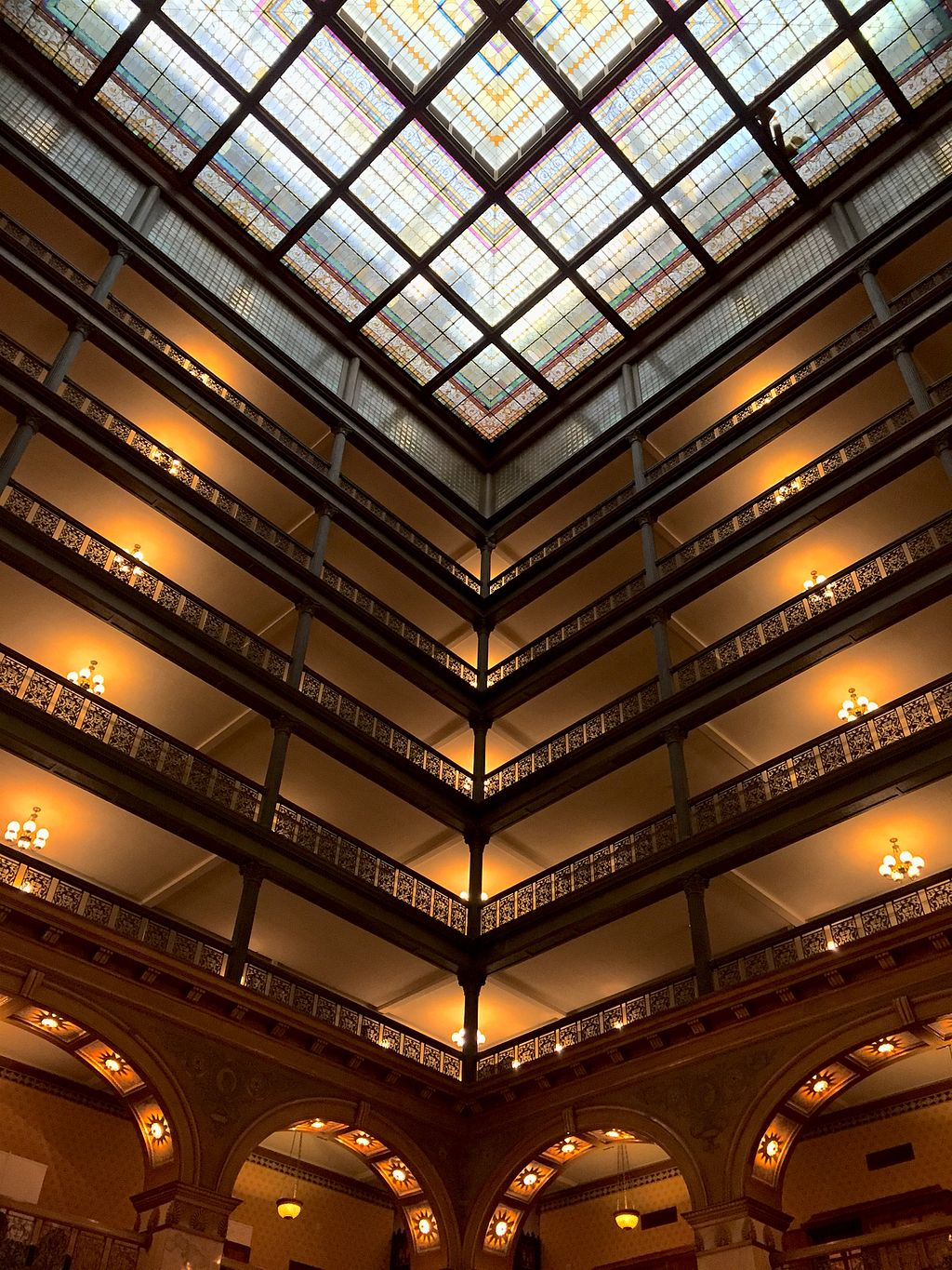 Brown Palace Hotel Atrium Balconies
