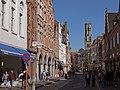 Brugge, straatzicht de Steenstraat met de Belfort-Hal of Halletoren (oeg29457) op de achtergrond foto3 2015-09-27 13.36.jpg