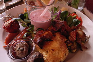 Brunch items from Kalaset restaurant in Copenh...