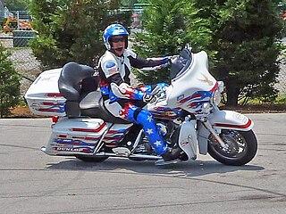 Bubba Blackwell American motorcycle stuntman