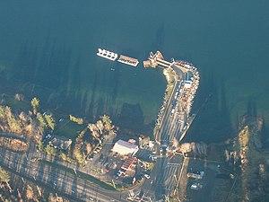 Buckley Bay, British Columbia - Image: Buckley Bay ferry