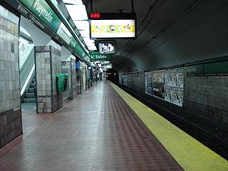 Pueyrredón (Line D Buenos Aires Underground) Buenos Aires Underground station