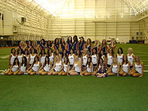 Buffalo Jills - A photo of the 2010-2011 Buffalo Jills squad at their June 1, 2010 Open Practice