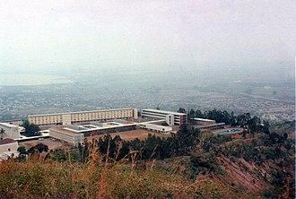 University of Burundi - View of the University's buildings in Bujumbura