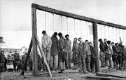 Bundesarchiv Bild 101I-031-2436-03A, Russland, Hinrichtung von Partisanen-2