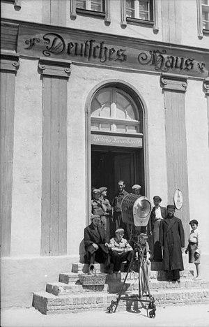 Heimkehr - Filming in Poland, 1941