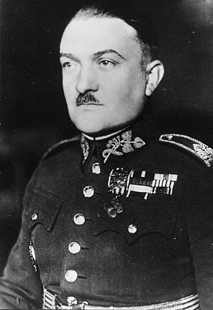 Alois Eliáš - Alois Eliáš in Czechoslovak military uniform