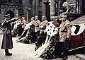 Bundesarchiv Bild 183-E12359, München, Adolf Hitler vor Feldherrenhalle Recolored.jpg