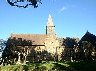 Thomas Leverton Donaldson - Busbridge Church of Gothic Revival style in Godalming, United Kingdom. Dedication in 1867.
