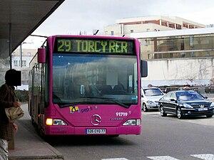 Réseau de bus PEP'S