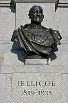 Bust of Jellicoe in Trafalgar Square