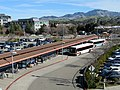 Busway at Walnut Creek station, January 2019.JPG