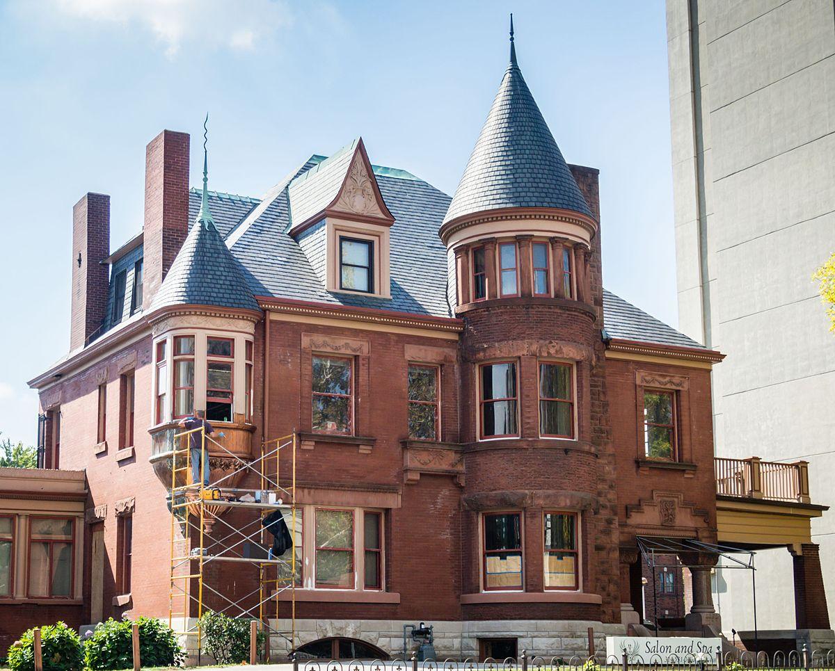 Queen Anne Victorian House Plans Butler House St Louis Missouri Wikipedia