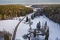 Byabäcken river valley in Sipoo, Finland, 2021 March - 3.jpg