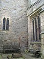 Bywell St. Peter - north chancel wall - geograph.org.uk - 1570675.jpg