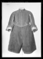 Byxor av svart oskuren sammet. Tillhört Karl X Gustav (1622-1660) - Livrustkammaren - 69827.tif