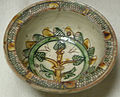 C.sf., pavia, scodellina, ceramica graffita arcaica, fine XIV-inizio XV secolo.JPG