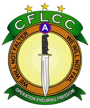 Coalition Forces Land Component Command - Image: CFLCC LOGO OEF final