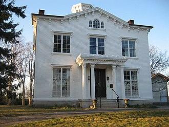 Gamaliel King - Captain Nathaniel B. Palmer house on Pine Point, Stonington, Connecticut