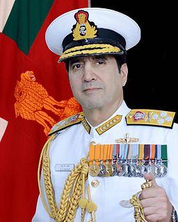 Robin K. Dhowan Indian admiral