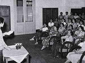 Kartini - Commemoration of Kartini Day in 1953