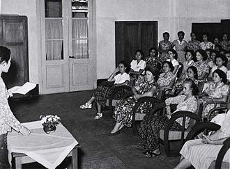 Kartini - Commemoration of Kartini Day in 1953