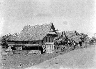 South Sulawesi - A village in South Sulawesi 1929
