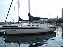 A Small Sailing Yacht