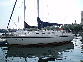 CS30, a sailing yacht