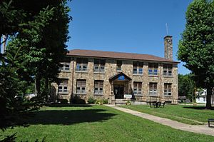 National Register of Historic Places listings in Crawford County, Missouri - Image: CUBA HIGH SCHOOL ANNEX, CRAWFORD COUNTY, MO