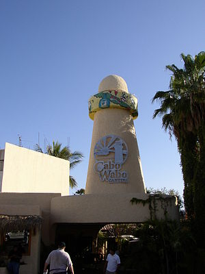 Sammy Hagar - Exterior view of Hagar's Cabo Wabo restaurant/nightclub in Cabo San Lucas, Mexico