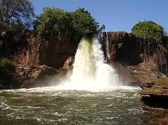 Chapada das Mesas National Park - Image: Cachoeira da Prata