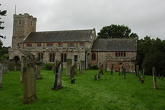 Listed buildings in Caldbeck - Image: Caldbeck Church geograph.org.uk 949316
