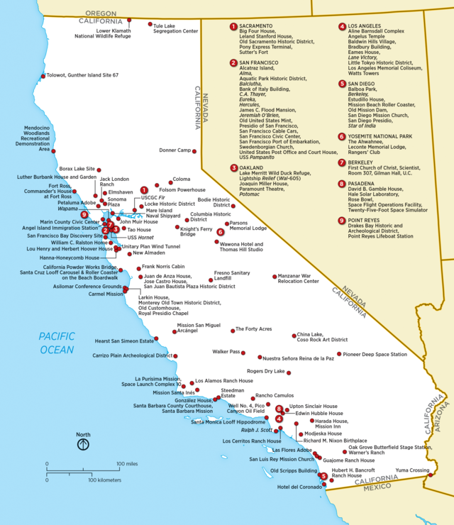 List of National Historic Landmarks in California Wikiwand
