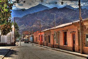 Tilcara - Calle de Tilcara, Jujuy, Argentina