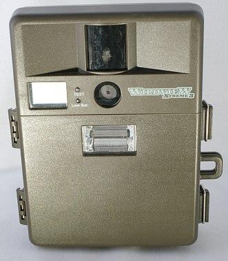 Camera trap - A camera trap