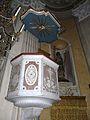 Camogli-chiesa san rocco-pulpito.JPG