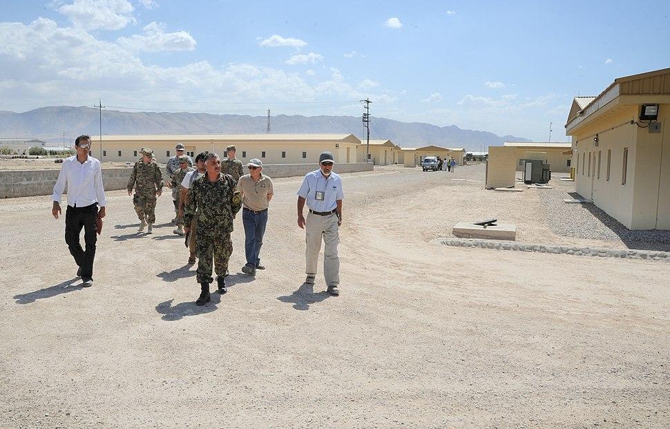 Camp Shaheen in 2009