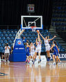 Canberra Capitals vs Logan Thunder 1 - Australian Institute of Sport Training Hall.jpg