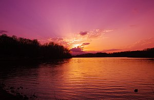 Cookeville, Tennessee - Cane Creek Lake