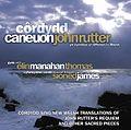Caneuon John Rutter (Yn Cynnwys Offeren I'r Meirw), album cover.jpg