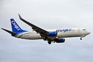 CanJet - CanJet Boeing 737-800