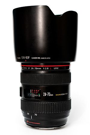 Canon EF 24–70mm lens - Image: Canon EF24 70mm