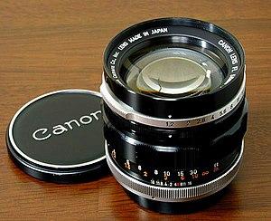 Canon FL lens mount - FL 58mm f/1.2