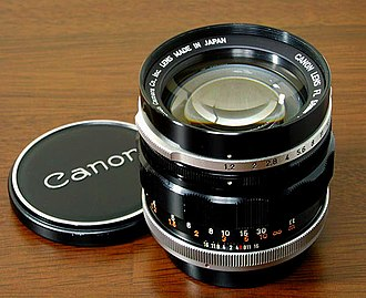 Canon FL lens mount - FL 58mm f/1.2