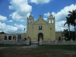Cansahcab Municipality - Principal Church of Cansahcab, Yucatán
